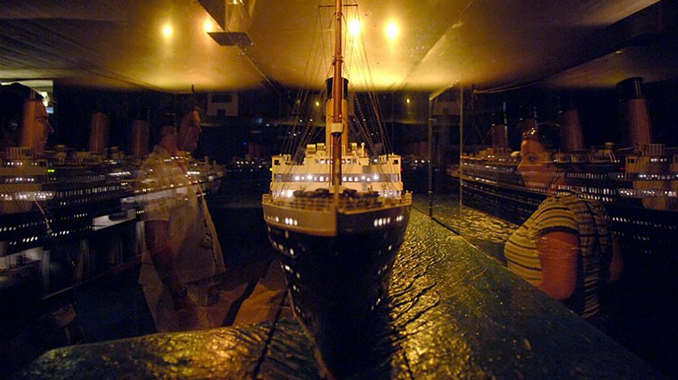 Titanic the exhibiton